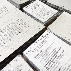 tornedge invitation of the earth handmade paper wedding invitations earth friendly,Handmade Paper Wedding Invitations